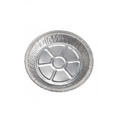 "9"" PERFORATED ALUMINUM PIE TINS 200/CS 30gauge"